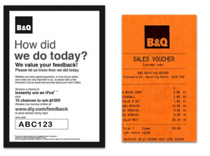 B and Q Customer Survey