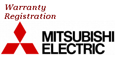 Mitsubishi Electric Product Online Warranty Registration