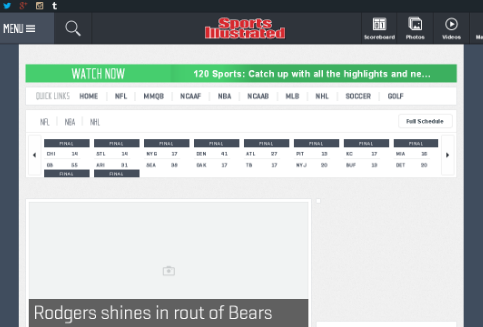 Personalize www.SI.com and Subscribe to 6 Sports Teams
