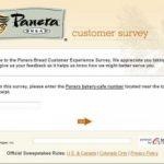 Paneralistens.com Survey – Panera Listens Customer Experience Sharing
