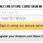 Amazon Rewards Visa Credit Card Login at www.chase.com