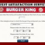Burger King Survey 2018 – Mybkexperience, BK Promo Codes and Coupons