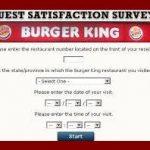 Burger King Survey 2018 – Mybkexperience, BK Promo Codes and Coupons