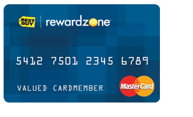 Best Buy Reward Zone Credit Card
