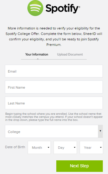 Spotify Student Discount Eligibility