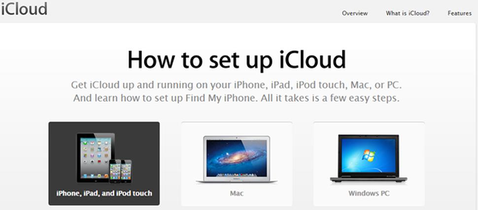 Create iCloud Account
