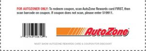 manage autozone offers and rewards account