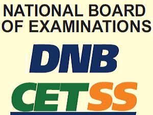DNB-CET Test Online Via NBE - www.natboard.edu.in