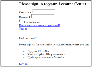 sign in to Victoria's Secret Credit Card Account