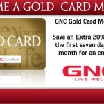 GNC My Account Sign In – GNC Gold Card Membership Renewal & Registration