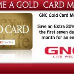 GNC My Account Sign In – GNC Gold Card Membership Renewal & Registration