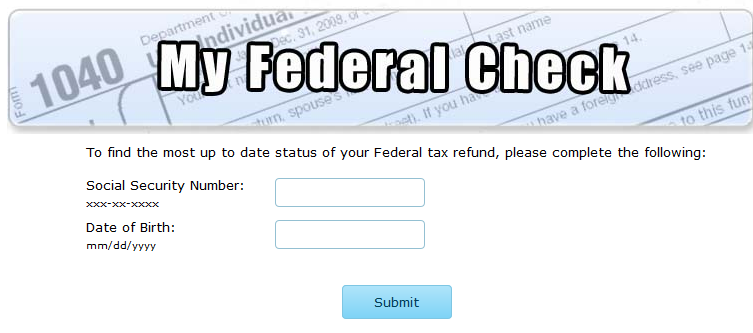 My Federal Check Online Portal