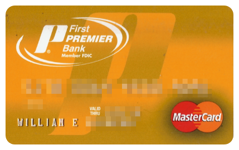 first premier credit card application login