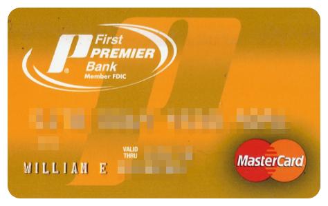 first premier credit card application login