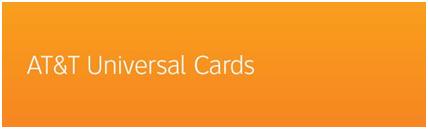 AT&T Universal Card Login