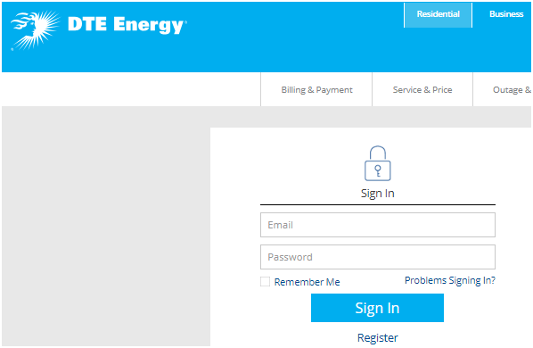 DTE Energy Customer Login My Account