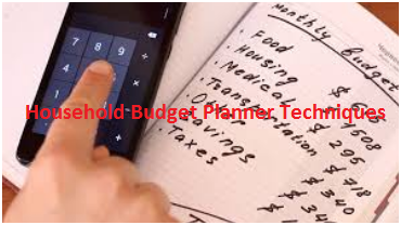 Household Budget Planner Techniques