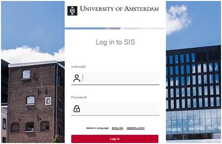 Sis.uva.nl Inloggen