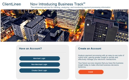 Business Track Login Account