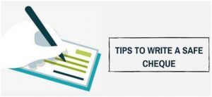 Tips to Write Bank Cheque