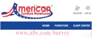American Furniture Warehouse Survey