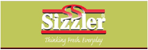 Sizzler feedback survey 2019