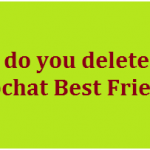 How to delete (unfriend) someone on SnapChat 2020?