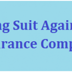 Filing Suit Against Insurance Company