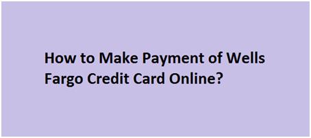 Wells Fargo Credit Card Account