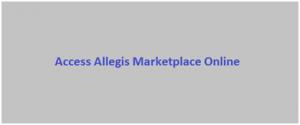 Access Allegis Marketplace Online