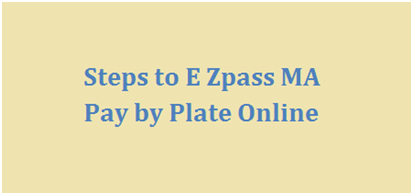 Manage Ez Pass MA Login