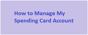 Manage MySpending Card Commerce Bank