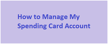 Manage MySpending Card Commerce Bank