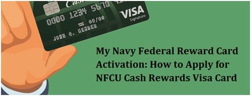 My Navy Federal Reward Card Activation