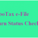 How to check e-File Status Turbotax.intuit.com