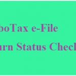 How to check e-File Status Turbotax.intuit.com
