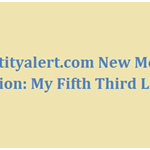 53identityalert.com New Member Activation: My Fifth Third Login