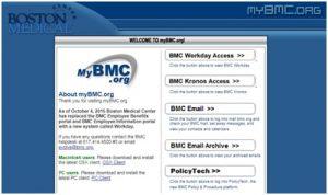 Mybmc.org Login