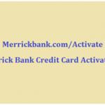 Merrickbank.com/Activate: Merrick Bank Credit Card Activation