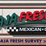 Baja Fresh Customer Survey 2021 : Share Feedback on www.bajafreshsurvey.com